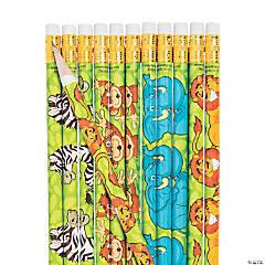 Zoo Animal Pencils - 24 Pc.