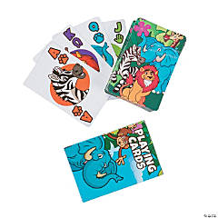Zoo Animal Playing Cards