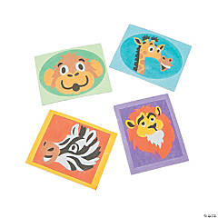 Zoo Animal Sand Art Pictures