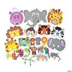 Zoo Animals Craft Pack Assortment
