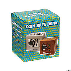 Zoo Print Combination Safe Bank