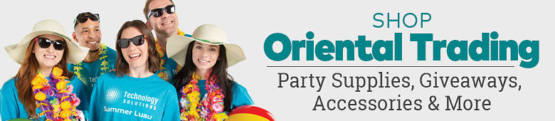 Shop Oriental Trading. Party supplies, giveaways, accessories & more!
