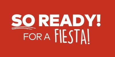 So ready! for a fiesta!