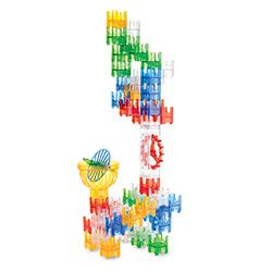 Q-BA-MAZE Warm Colors - Spin Stunt Tower