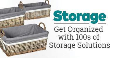 Storage - Get Organized with 100s of Storage Solutions