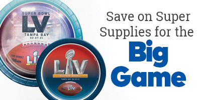 Save on super supplies for the Big Game