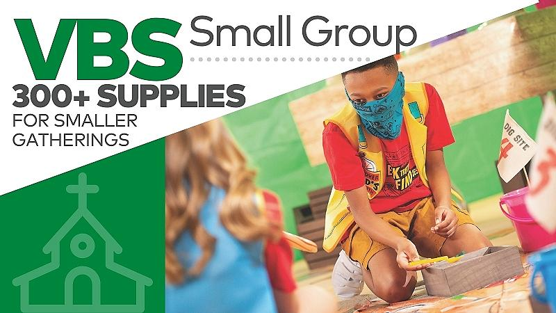 Small Group VBS. Over 300 supplies for smaller gatherings