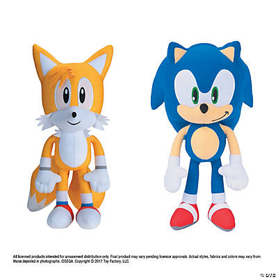 12 Plush Modern Sonic The Hedgehog Character