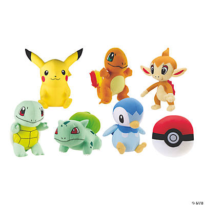 12 Plush Pokemon Characters Assortment