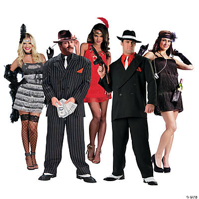 1920s Group Costumes Image Thumbnail