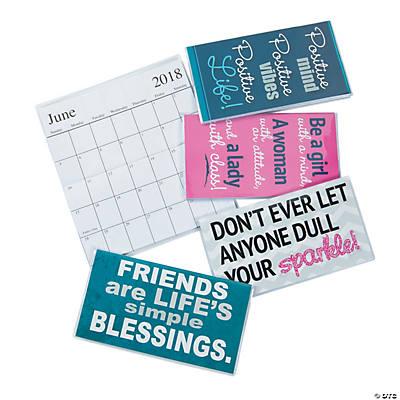 Pocket Calendar.2018 2019 Make A Statement Pocket Calendars