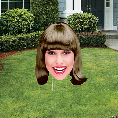 "36"" Custom Photo Jumbo Big Head Cutout Yard Sign Image Thumbnail"