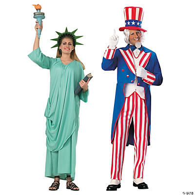 Adult's America Couples Costumes Image Thumbnail
