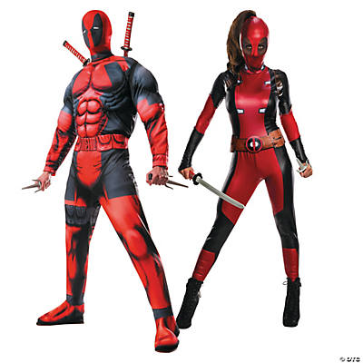 Adult's Deadpool™ Couples Costumes Image Thumbnail