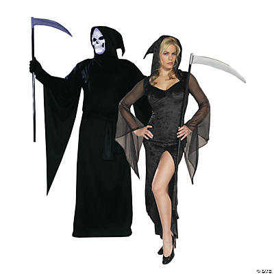 Adult's Death Couples Costumes