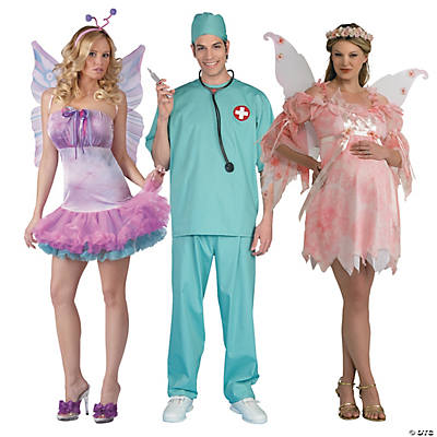 Adult's Dentist & Tooth Fairy Couples Costumes