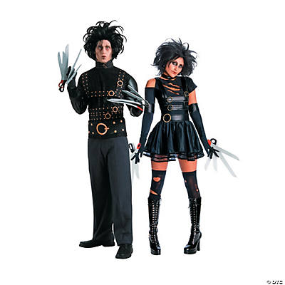 Adult's Edward & Miss Scissorhands Couples Costumes Image Thumbnail