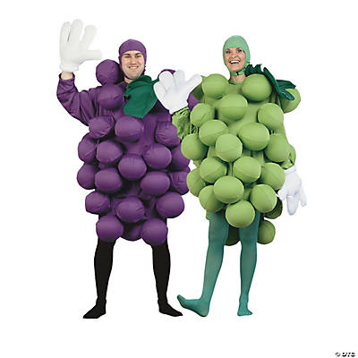 Adult's Grapes Couples Costumes Image Thumbnail
