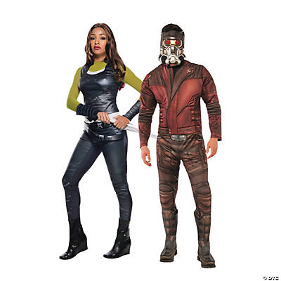Adult's Guardians of the Galaxy™ Star Lord & Gamora Couples Costumes Image Thumbnail
