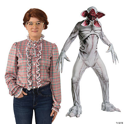 Adult's Stranger Things™ Barb & Demogorgon Couples Costumes Image Thumbnail