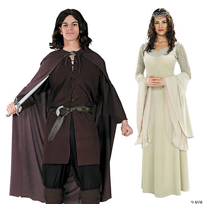 Adult's The Lord of the Rings™ Aragorn & Arwen Couples Costumes Image Thumbnail