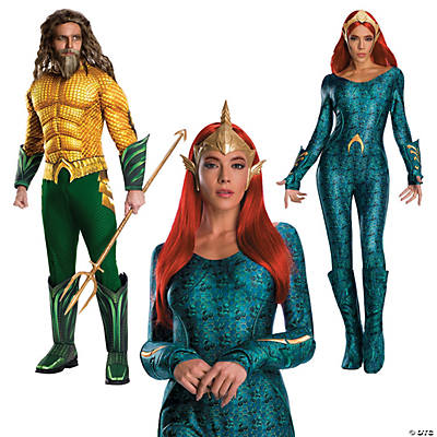 Adult's Aquaman & Mera Couples Costumes Image Thumbnail