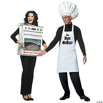 Adult's Bun Maker Couples Costumes