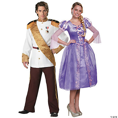 Adult's Disney® Rapunzel & Prince Couples Costumes