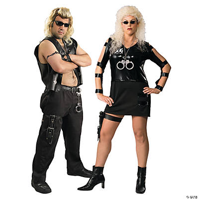 Adult's Dog The Bounty Hunter & Beth Couples Costumes