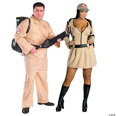 Adult's Ghostbusters Couples Costumes