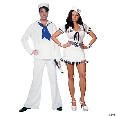 Adult's Sailor Couples Costumes  Image Thumbnail