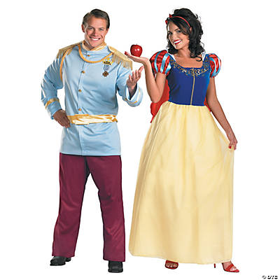 Adult's Snow White & Prince Charming Couples Costumes