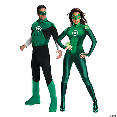 Adult's The Green Lantern Couples Costumes