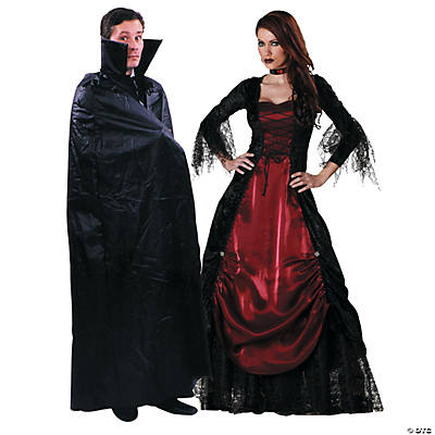 Adult's Vampire Couples Costumes Image Thumbnail