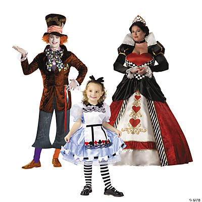 Alice in Wonderland Group Costumes Image Thumbnail