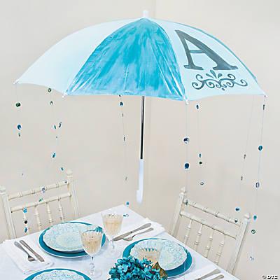Baby Shower Umbrella Decoration Idea