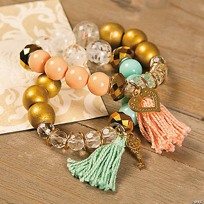 Beaded Tassel Bracelet Idea Image Thumbnail