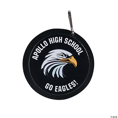Black School Spirit Custom Photo Charms Image Thumbnail
