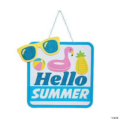 Door Sign Door Decoration Summer Door Hanger Birthday Pool Party Door Hanger Pool House Pool Door Hanger Pool Party