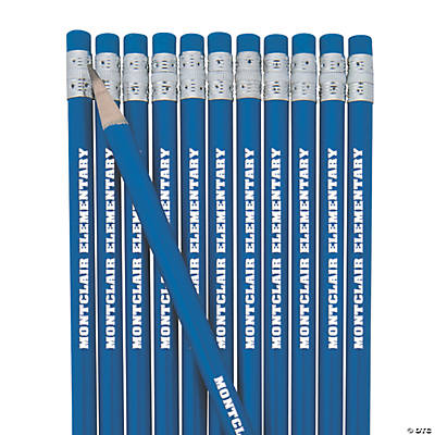 Blue Personalized Pencils Image Thumbnail