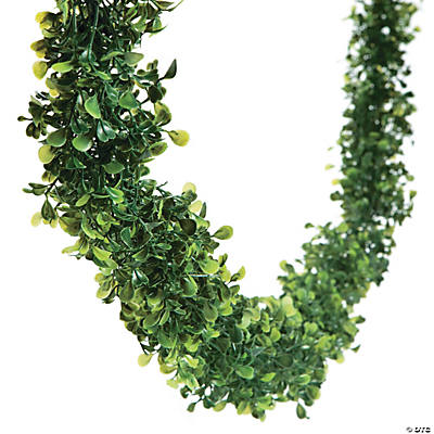 Boxwood Garland by Oriental Trading