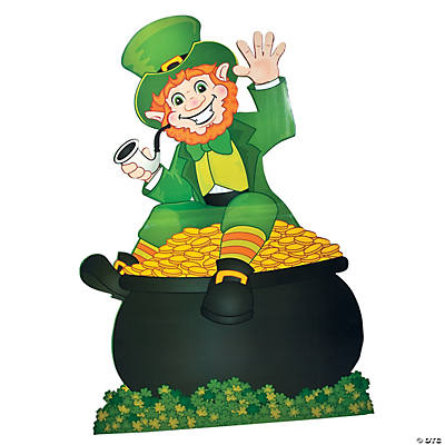 Cardboard leprechaun stand up thecheapjerseys Images