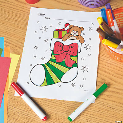 image regarding Printable Stockings named Xmas Stocking No cost Printable Coloring Webpage Oriental