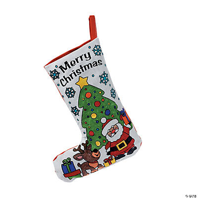 Decorate Your Own Christmas Stocking Games