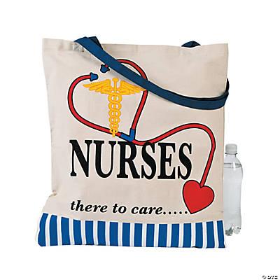 Cotton Nurse Tote Bag
