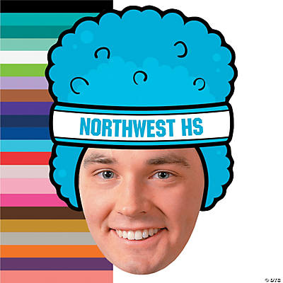 Custom Photo Basketball Big Head Cutout Image Thumbnail