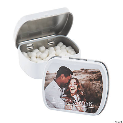 Custom Photo Classic Mint Candy Tins
