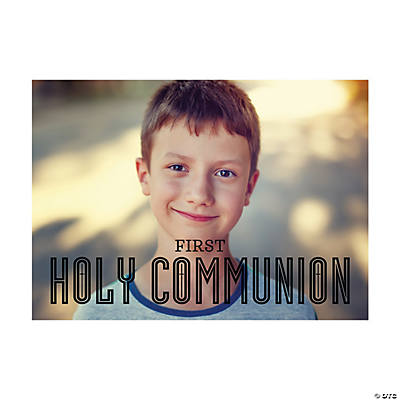 Custom Photo First Communion Cards