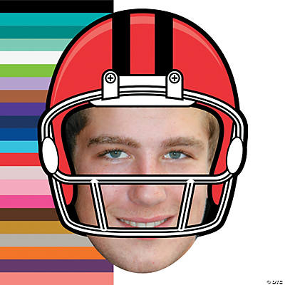 Custom Photo Football Big Head Cutout Image Thumbnail