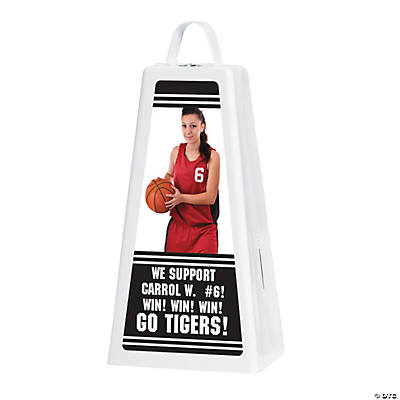 Custom Photo Jumbo Cowbell - White